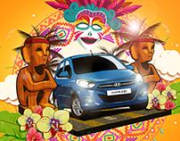 Hyundai Motors Philippines Pop Art