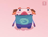 'Pigs' - Merge Battle Animation
