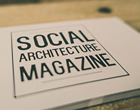 Business Card Design: Social Architecture Magazine