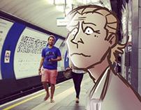 Julian on the Underground