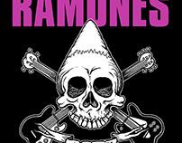 Ramones - Pinhead Skull T-shirt