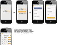 Cardiotone Mobile UI/UX Design