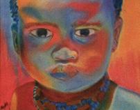 Fine Art | Pastel Portrait Drawing
