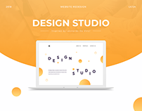 Design Studio website redesign