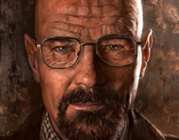 Walter White ( breaking bad with process