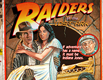 "Raiders of the Lost Ark: ""Circus Style"" poster"