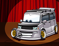 Toyota Bb stand-up