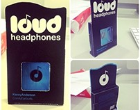 Loud Headphones package redesign