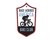 Race Across America Bike Club Logo