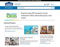 Lowe's.com Redesign