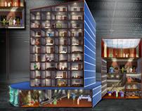 Revel Hotel / Installation