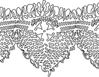 Lace Illustration for Laser Cutter