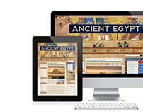 Tour Egypt Website Theme Pages