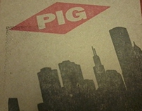 All Hamerican PIG show limted ed. DVD packaging