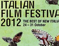 Print design - Italian Film Festival 2012