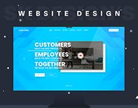 Services Market Website Design