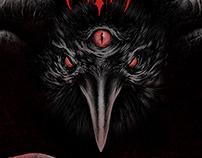 """Misanthropic Rage - """"INRI"""" album cover"""