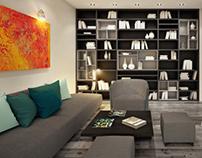 Mansarda apartment 50 sq m