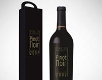 PINOT NOIR packaging design