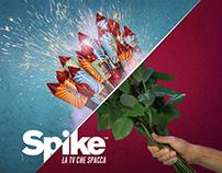 Campagna Lancio Spike, la tv che spacca