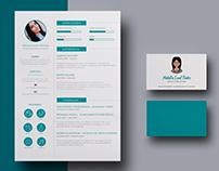 Resume / CV and business card.
