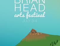 Brianhead Arts Festival Poster