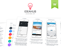 IdeaHub UI/UX Documentation Kit
