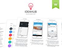IdeaHub UI/UX Documentation Kit