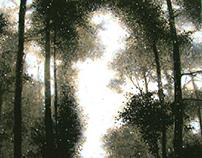 Silence Oil on Canvas , 100x95 2015