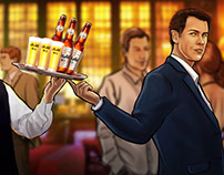 Asahi Beer - storyboard