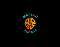 Mariam toon logo design