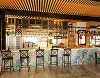 Restaurant SUNFLOWER .Q2.TP-HCM