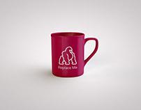 Free classic coffee mug mockup PSD