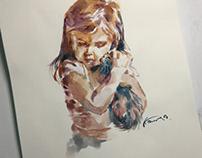 Kid Kat Sketch