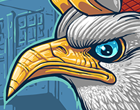 Lowbrow Eagle