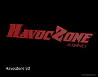 Havoc Zone Gaming Center Signage