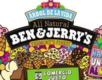 Ben & Jerry's Hazle un sabor al mundo.
