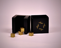 GOLD CUBE packaging design