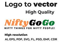 Logo to vector