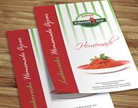 Leaflet & BusinessCard Design for Producers Association