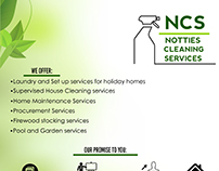 Cleaning Services Poster Design
