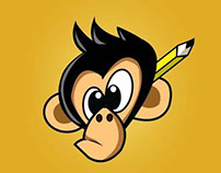 CReative monkey logo