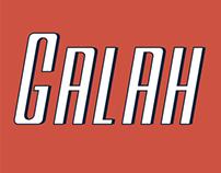 Galah Panjang Family Font