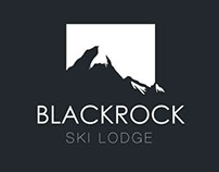 Blackrock Ski Lodge Branding