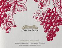 Casa da Ínsua Wines, Brochure