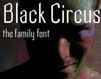 Black Circus Font family