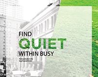 FIND QUIET WITHIN BUSY | Booklet Design