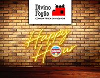 Divino Fogão Happy Hour