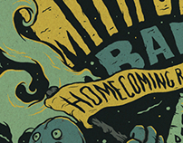 The Smith Street Band homecoming poster