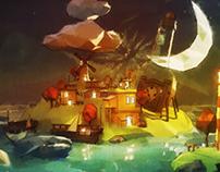 3D Animation - The Island